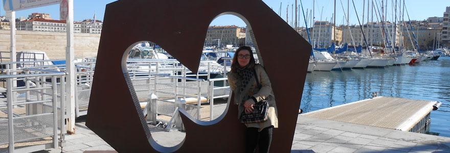vacancier à Marseille